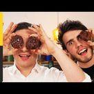 Double Chocolate Cookies   Alfie Deyes & Jamie Oliver