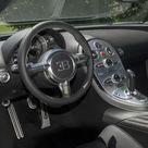 Box Canvas Print. 2009 Bugatti Veyron Grand Sport interior
