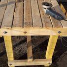 Comment Fabriquer Une Table De Ferme En Bois