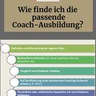 Die passende Coach Ausbildung finden