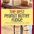 How to make the best 4 ingredient peanut butter fudge