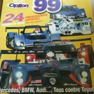 LE MANS 1999 6 SIGNED AUTOGRAPHED PROGRAM MERCEDES CLR AUDI R8R TONY SOUTHGATE