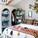 Schlafzimmer Deko Ideen für die Gestaltung & Farben im Boho Style