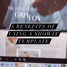 Benefits of using a Showit website template