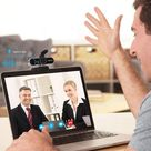 Foscam Full HD 1080P Webcam with Business-Grade Noise Reducing Mic