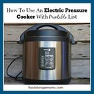 Pressure Cooker Times