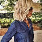 21 Textured Choppy Bob Hairstyles: Short, Shoulder Length Hair - PoPular Haircuts