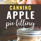 Canning Apple Pie Filling (without pectin)