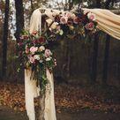 Beautiful Bohemian Floral Autumn Kindred Barn Wedding in Arkansas