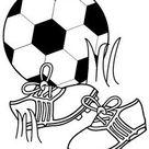 ESPAÇO EDUCAR: Muitos desenhos da Copa do Mundo para colorir, pintar, imprimir! | Riscos 1 | Pinterest | Coloring pages, Football coloring pages and Color