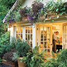 Garten schön gestalten - Mit wenig Geld, günstig Außenbereich verbessern