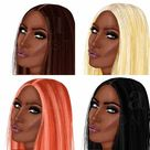 GIRLS CLIPART. Free commercial use clipart African american   Etsy