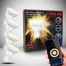 WiFi LED Leuchtmittel GU10 | 4er Set