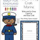 Veterans Day Craft for Kindergarten with Marine Soldiers