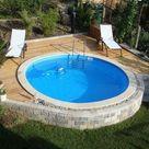 Semi-In Ground Pools, Partial In Ground, Hybrid Pool Nashville, Clarksville
