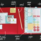 Notebook Organization