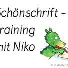 Saubere Heftführung: Schönschrift-Training mit Niko