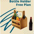 6-Pack Bottle Holder Free Plan