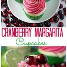Cranberry Margarita Cupcakes - Baker by Nature