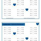 nichtzählende Rechenstrategie ZR20: Verliebte Zahlen
