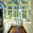 Greenhouse-Inspired Kitchens: Lots of Windows and Light!