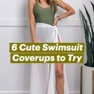 6 Cute Swimsuit Coverups to Try