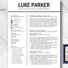 CV Resume Template Word Cover Letter