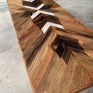 Reclaimed Style Redwood Desk - Nimba