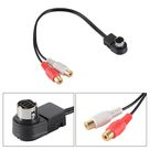 3.51US $ |KCA 121B Audio Adapter Auxiliary Input Aftermarket RCA Cable 25CM for Alpine CDA CVA IVA Ai Net Connector MA1132 SZ|auxiliary input cable|input cableauxiliary adapter - AliExpress