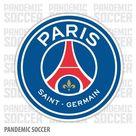 Paris Saint Germain PSG France Color Vinyl Sticker Decal