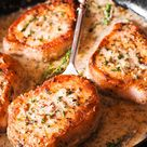 Make These Pork Chops in Creamy Garlic Sauce for Dinner