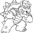 Bowser Coloring Pages - Best Coloring Pages For Kids