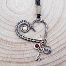 Capricorn Zodiac Necklace, Silver Constellation Zodiac Pendant,  Crystal Charm Zodiac Pendant, Personalized Zodiac Necklace