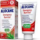 Alocane Emergency Burn Gel, 4% Lidocaine Maximum Strength Fast Pain and Itch Relief for Minor Burns, Sunburn, Kitchen, Radiation, Chemical, First Degree Burns, First Aid Treatment Burn Care 2.5 Fl Oz