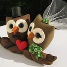 Owl Cake Toppers