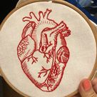 I made this anatomical heart a few years ago.