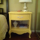 Yellow Nightstand
