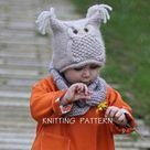 Owl Hat Knitting Pattern