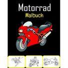 Motorrad Malbuch : 50 hochwertige Motorrad Malvorlagen fr Kinder und Jugendliche (Paperback)