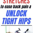 These 8 Lower back stretches will relieve tight and painful lower back and hips in no time