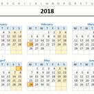 FREE Monthly & Yearly Excel Calendar Template (2021 and Beyond)