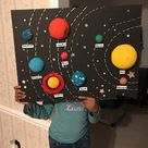 My Daughters Solar System Project