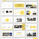 Minimal Classic Yellow Presentation Template – Original and High Quality PowerPoint Templates