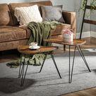 VASAGLE Beistelltisch »LNT012B01«, 2er Set Couchtische, Tisch für Wohnzimmer, vintage online kaufen   OTTO