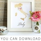 Art Prints-Free State and Country - Free Pretty Things For You