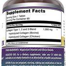 Amazing Formulas Collagen Complex 1000 Mg 90 Tablets