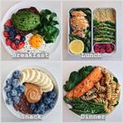 Healthy meals to have throughout the day