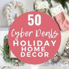 50 Cyber Monday & Black Friday Deals on Home Decor 2020