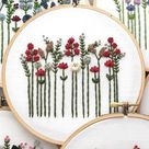 Handstickmuster von und andere Abenteuer Embroidery Co www.andotheradven …. #… – 2019 - Floral Decor
