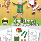 Christmas Photo Paper Doll Template – Easy Peasy and Fun Membership